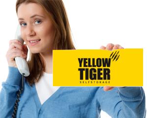 Kontakt zum Yellow Tiger Selfstorage Mietlager